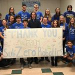 Thank you from the Esko Subzero Robotics Team
